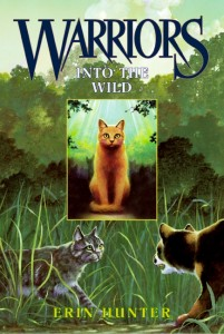 WARRIORS INTO THE WILD BOOK COVER
